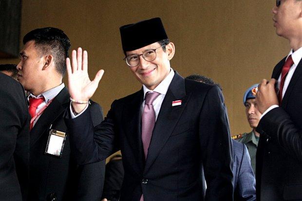 Sandiaga UNo, Jokowi, peningkatan investasi, lapangan kerja
