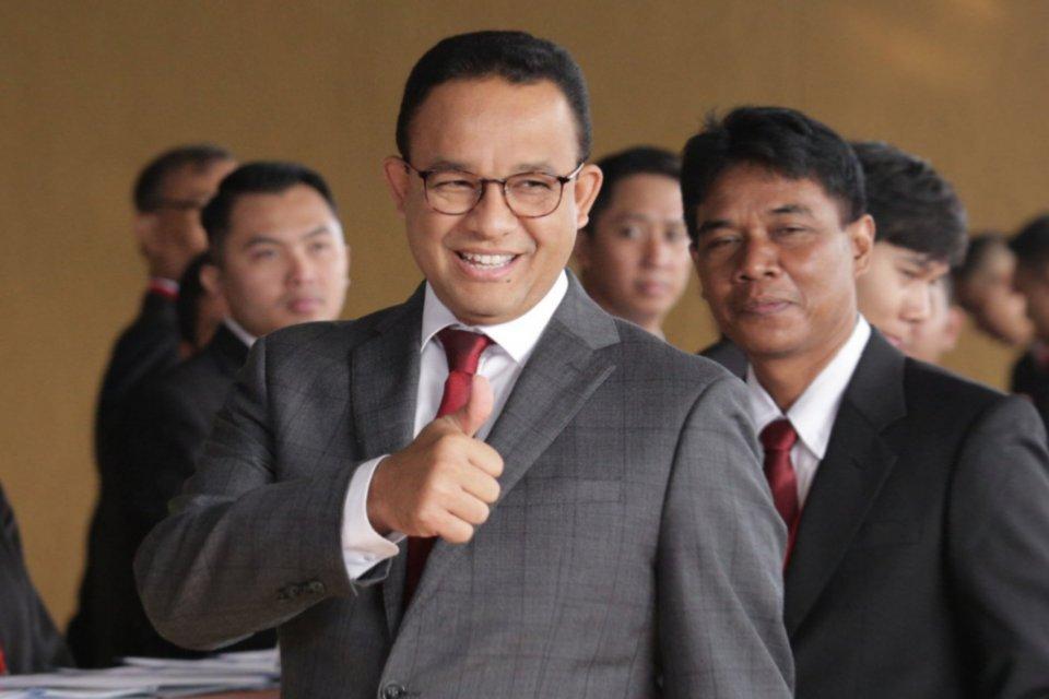 Gubernur DKI Jakarta Anies Baswedan mengaku belum ada komunikasi dengan Partai Gerindra terkait posisi Wakil Gubernur DKI Jakarta.