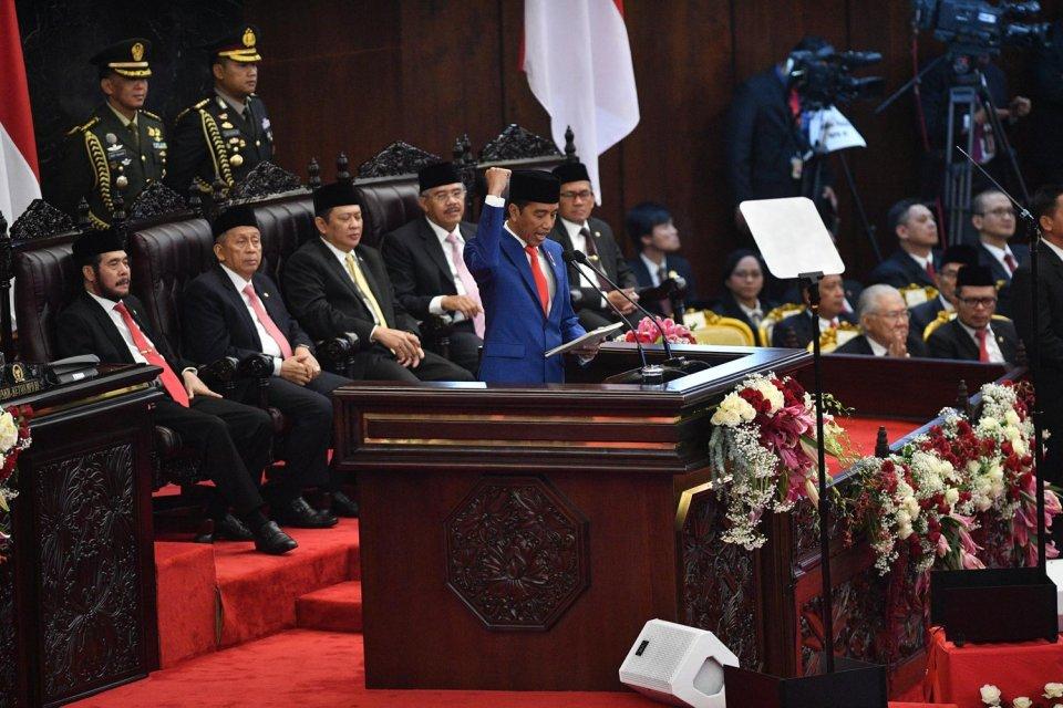 Jokowi, UU, MPR, pidato kenegaraan