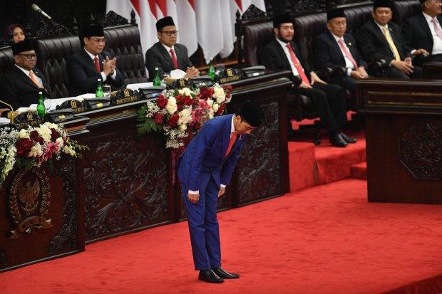 Jokowi, Sidang Tahunan MPR, SDM