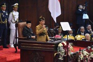 Pidato Kenegaraan Jokowi di Sidang Bersama DPD-DPR