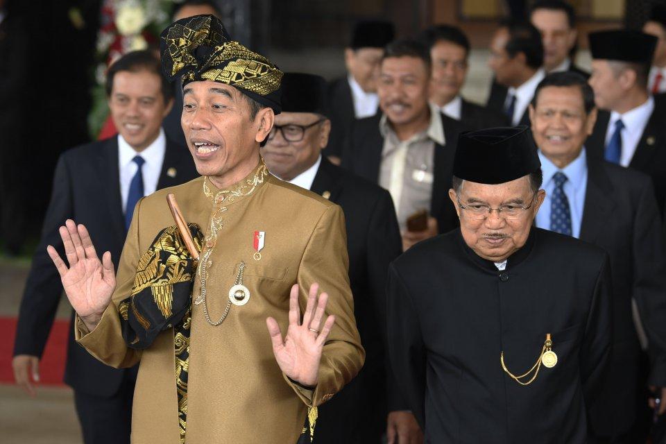 Jokowi, susunan kabinet