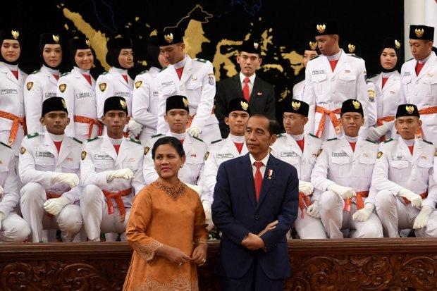Jokowi, Upacara 17 Agustus di Istana