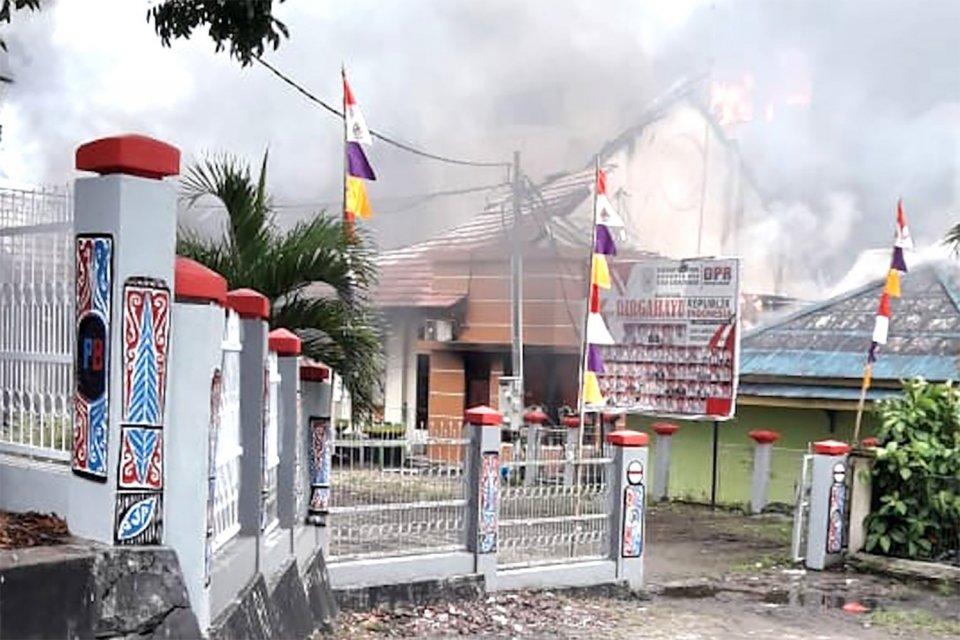 Kerusuhan Papua, Provokasi, Media Sosial