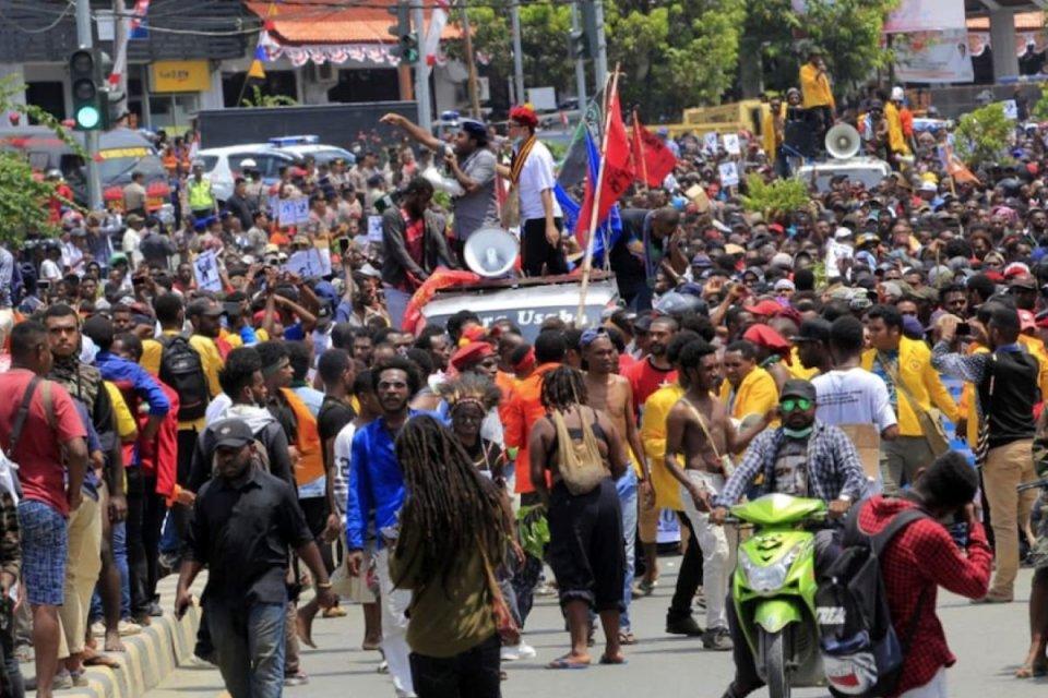 kerusuhan Manokwari, kerusuhan di papua barat, kemendagri