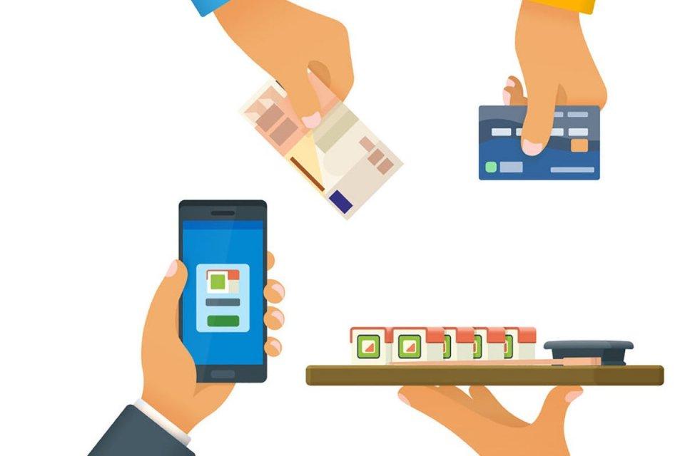 transaksi nontunai, uang elektronik, fintech