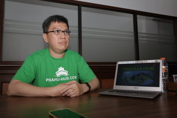 startup prahu-hub atasi masalah logistik