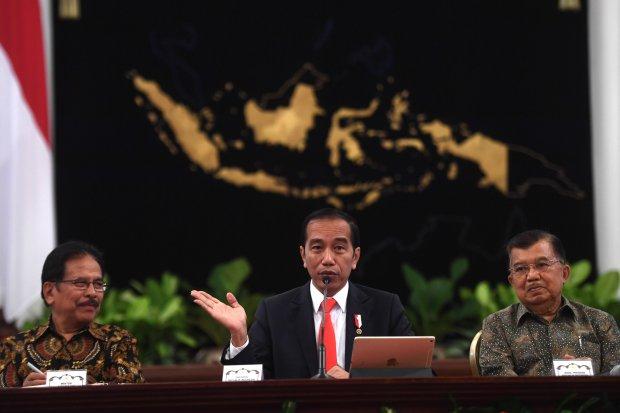 Jokowi, Revisi Undang-Undang, investasi
