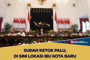 Jokowi, ibu kota baru