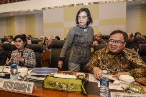 Rapat Kerja RUU APBN 2020