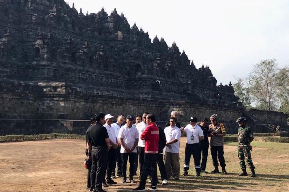 Jokowi, Candi Borobudur