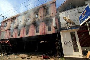 Kondisi Jayapura Usai Aksi Unjuk Rasa