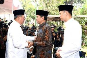 Presiden Jokowi Melayat Ibunda mantan Presiden Susilo Bambang Yudhoyono