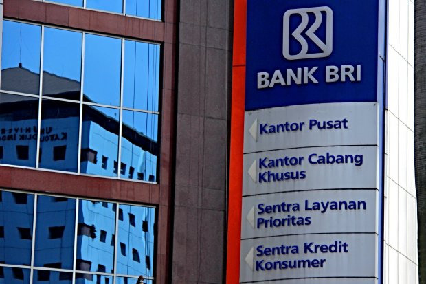Logo di Gedung Bank Rakyat Indonesia