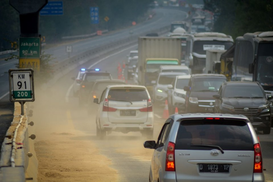 kecelakaan, tol cipularang, menteri perhubungan, evaluasi ruas tol cipularang