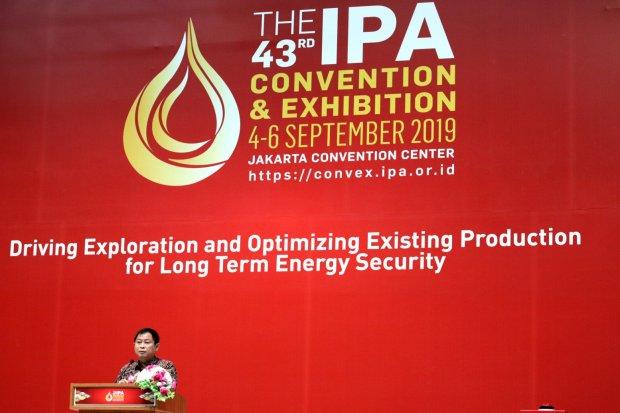 Ignasius Jonan, Kementerian ESDM, Konvensi Migas, IPA Convex 2019