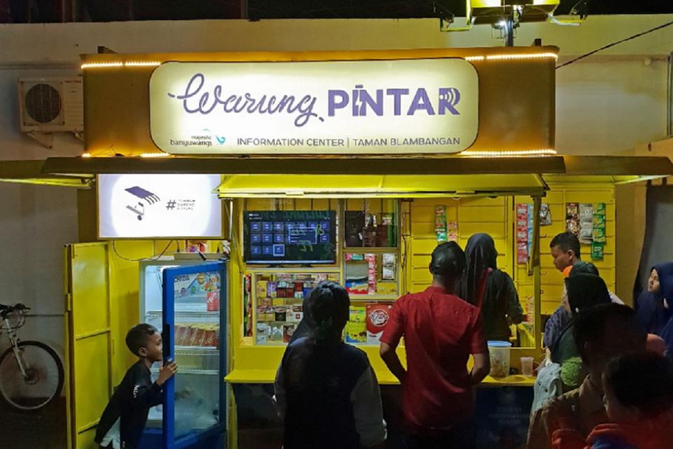 Warung Pintar menargetkan buka 5 ribu kios tahun ini