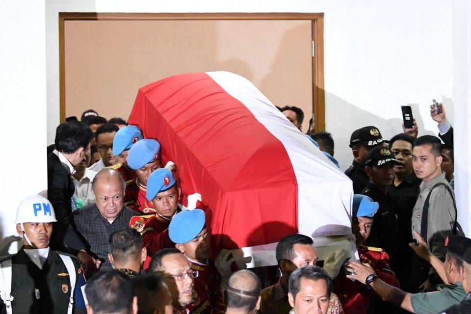 Habibie, pemakaman, TMP Kalibata