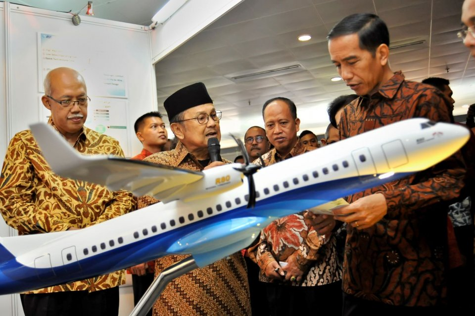 B.J.Habibie, Jokowi