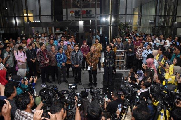 Jajaran Pimpinan KPK Bantah Pernyataan Alexander Marwata