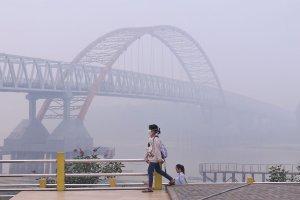 Kabut Asap Selimuti Kota Palangkaraya