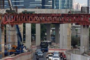 Perkembangan Pembangunan LRT Jabodebek