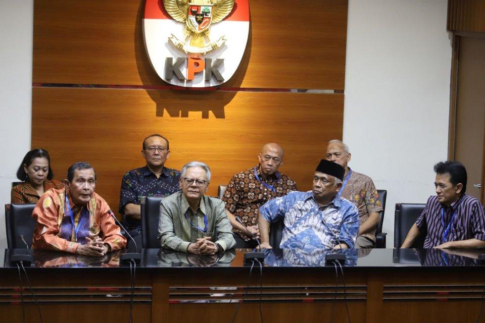 revisi UU KPK, Jokowi, KPK