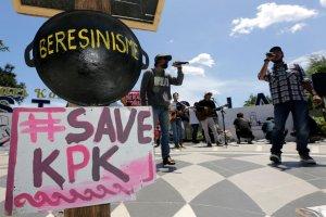 Aksi Penolakan Revisi UU KPK
