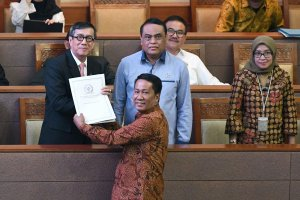 Pengesahan Revisi UU KPK