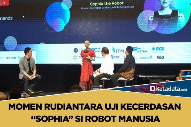 sophia si robot manusia