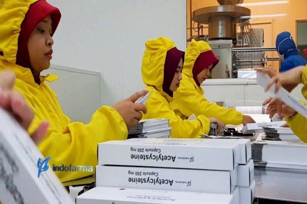 Sepanjang semester I 2019, Indofarma masih mencatat rapor merah dengan rugi bersih Rp 24,35 miliar.