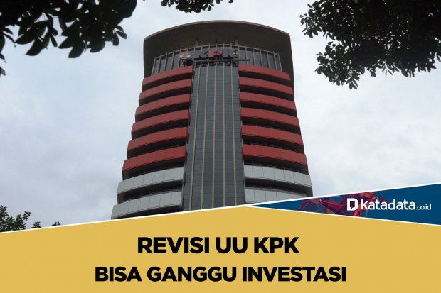 revisi UU KPK bisa ganggu investasi