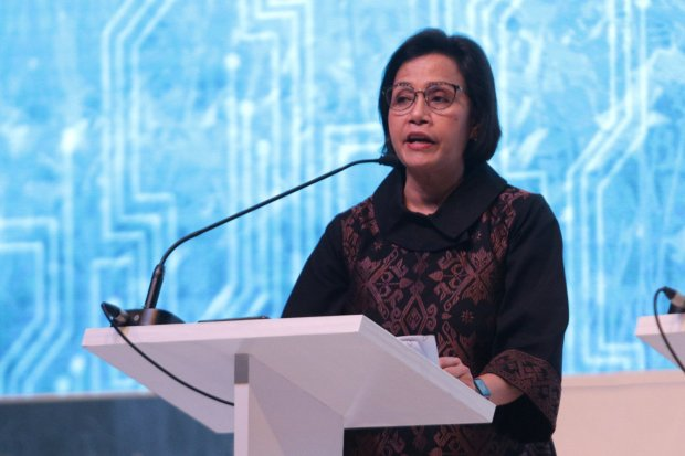 Sri Mulyani, demonstrasi, DPR