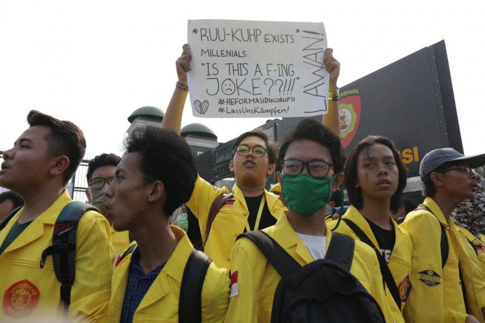 Demonstrasi hari ini, Demonstrasi Mahasiswa, Demonstrasi 30 September