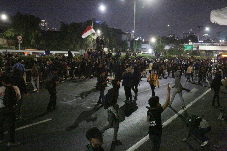 demo mahasiswa tolak rkuhp