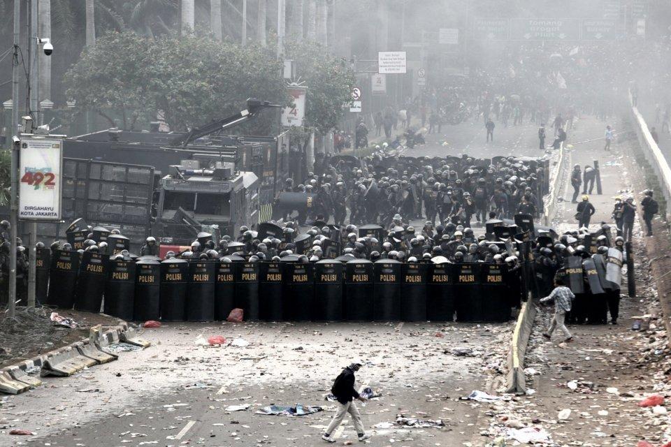 demonstrasi hari ini, demo rusuh, demonstrasi mahasiswa, demonstrasi 30 September