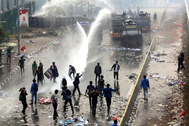 Demonstrasi, Kendari, Mahasiswa Meninggal.