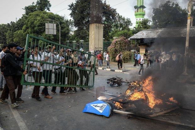 Pelajar, Rusuh DPR, Demonstrasi.