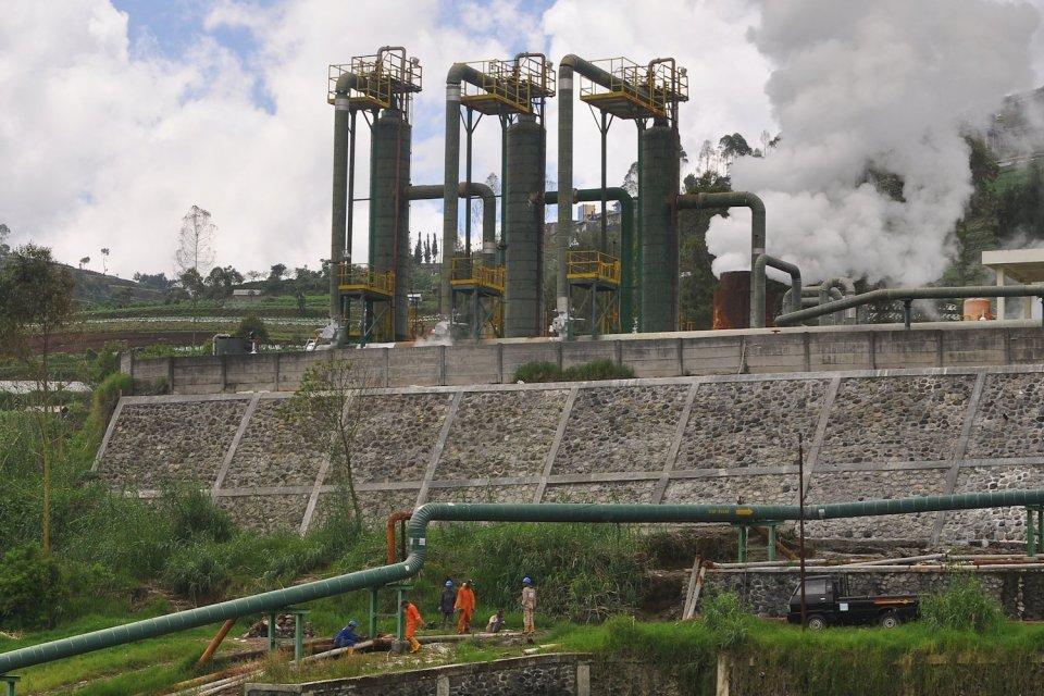 METI menyebut Indonesia punya potensi 312 lapangan panas bumi yang bisa dikembangkan jadi sumber energi terbarukan