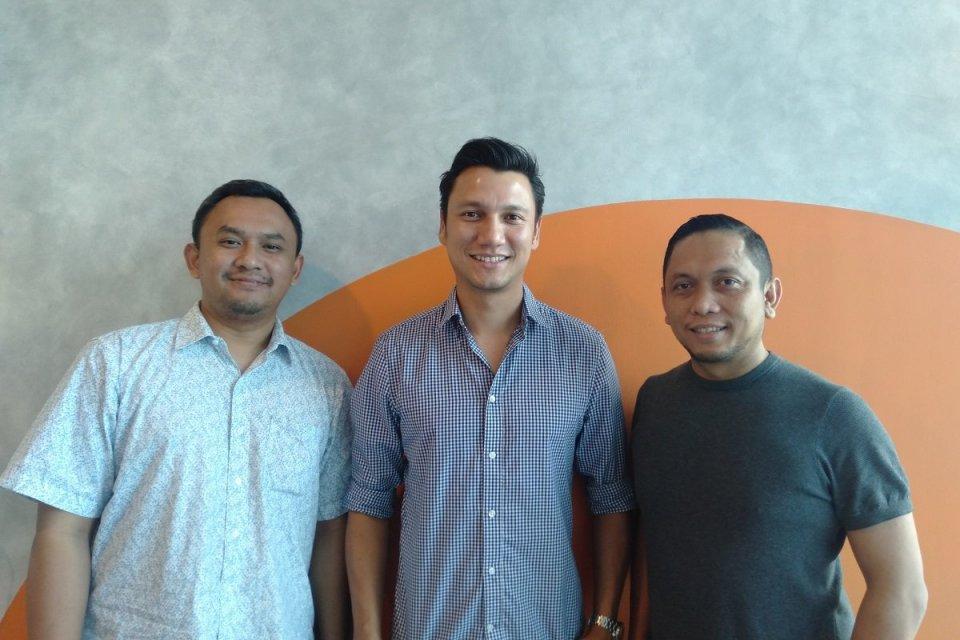 Para pendisi startup CUMI. Startup milik aktor, Christian Sugiono, CUMI mengumumkan perolehan pendanaan tahap awal (seed funding) dari East Ventures.