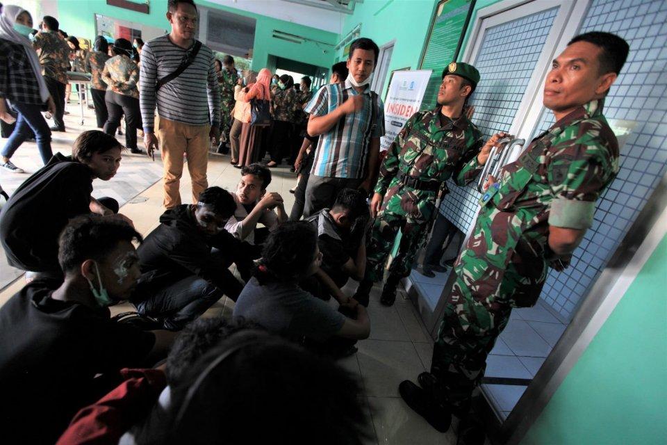 Beberapa lembaga nirlaba minta polisi transparan dan akuntabel dalam menangani demonstrasi mahasiswa