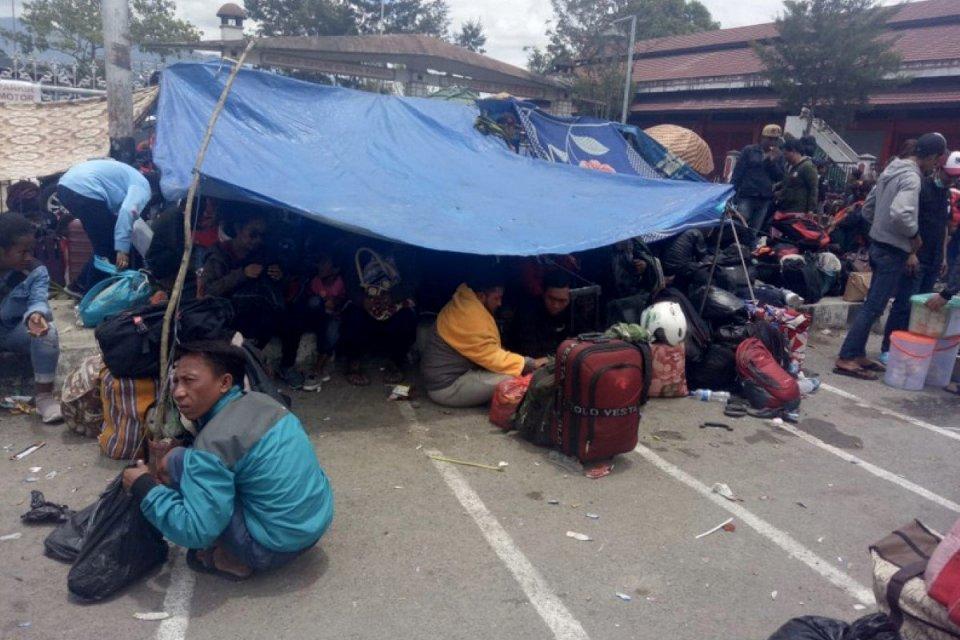 Kerusuhan Wamena, Papua, Pengungsi.