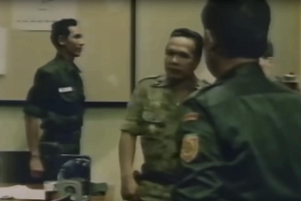 Potongan adegan film Penumpasan Pengkhianatan G30S/PKI.