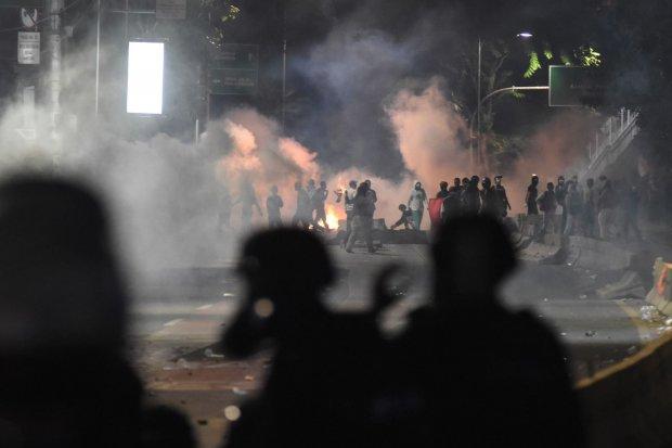 Demonstrasi mahasiswa, demonstrasi 30 September, demo rusuh