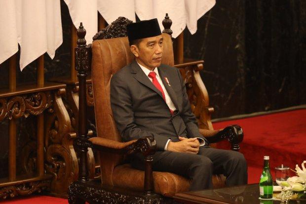 UU KPK, Jokowi, Parpol.