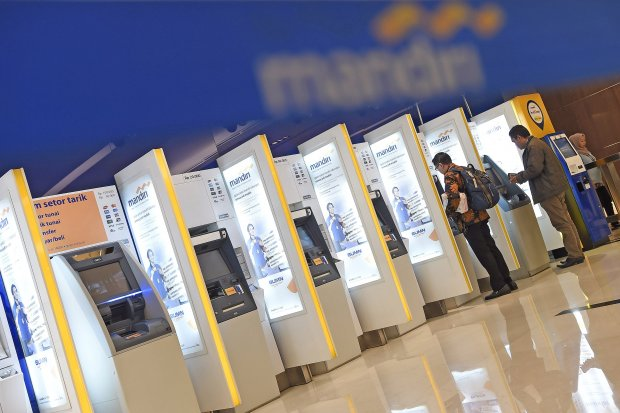 Pegawainya Terindikasi Corona Bank Mandiri Tutup Satu Kantor Cabang Nasional Katadata Co Id