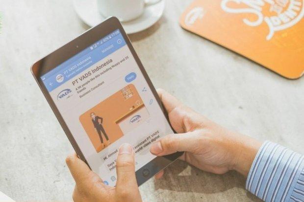 Layanan chatbot milik VADS Indonesia. Layanan konsumen berbasis digital diklaim bisa menghemat biaya operasional hingga 70%.