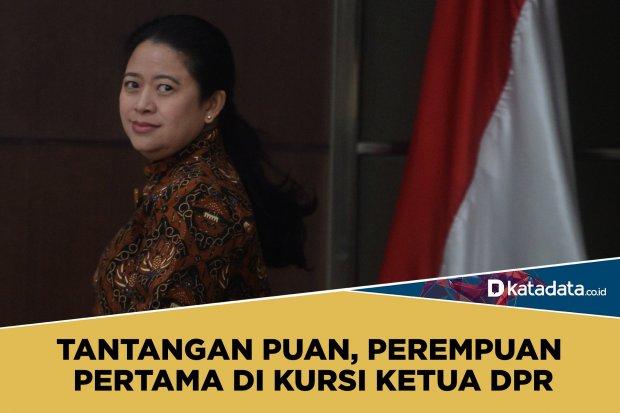 Puan Maharani jadi ketua DPR