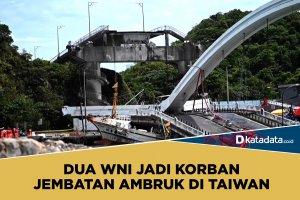 Jembatan ambruk di Taiwan