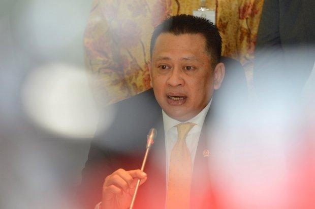 Ketua MPR, Bambang Soesatyo, Gerindra.